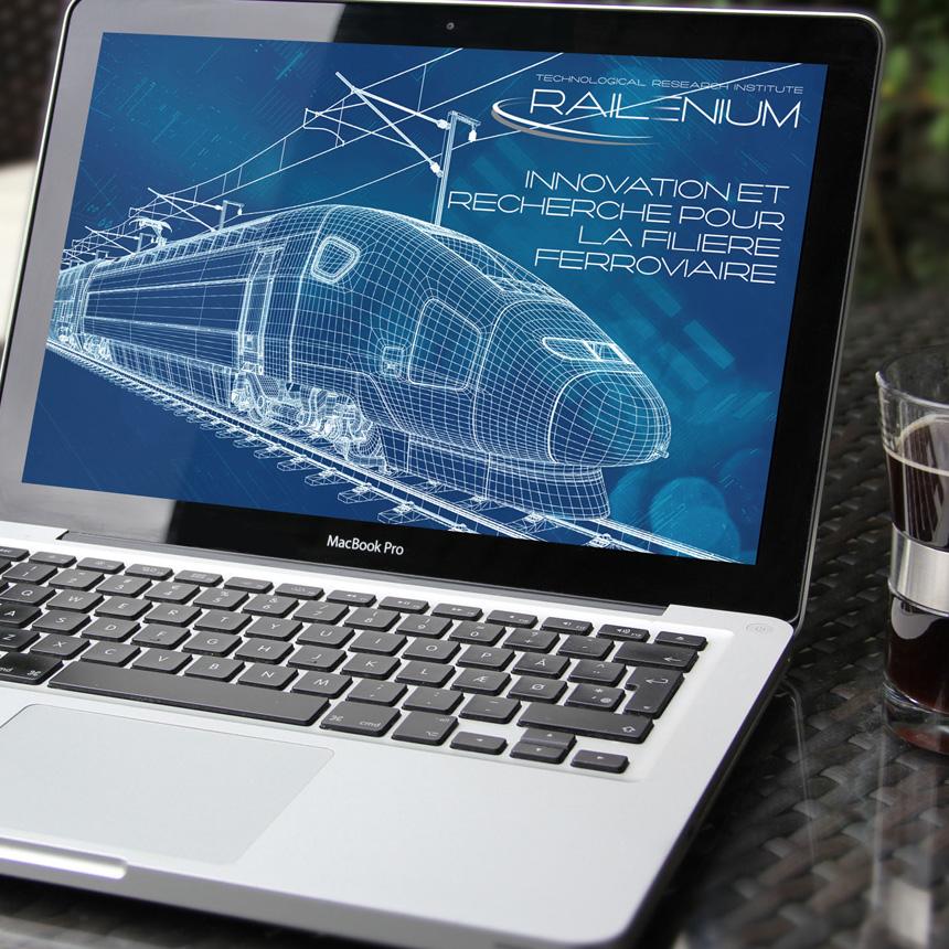 système ferroviaire en 3D